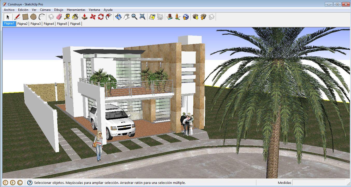 Programas para dise ar casas en 3d gratis cosas que - Diseno de casas 3d ...