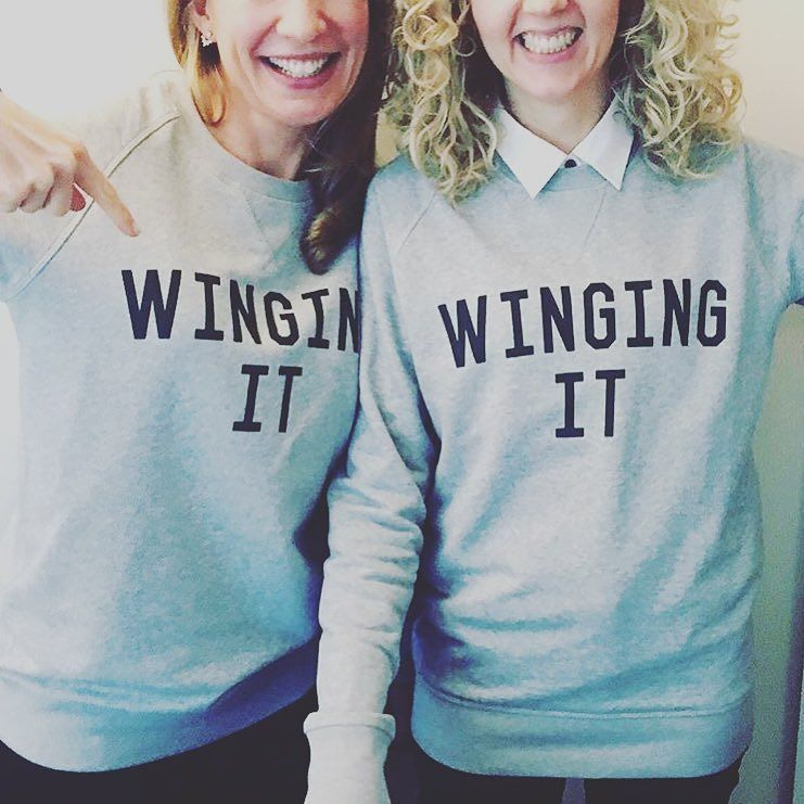 """Loving our new threads @bloomandblossomuk""  we love the double love - thank you #WingingIt #GoodTees #selfishmother #kidscharity by selfishmother"