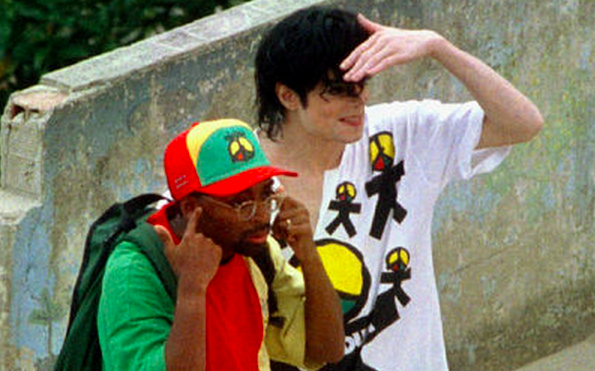 """Spike Lee remembers directing #MichaelJackson's """"They Don't Really Care About Us."""" http://bit.ly/1nF9ZEM"""