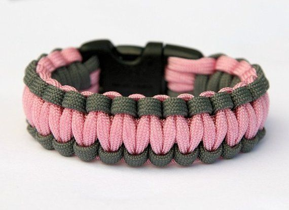 Handmade Paracord Desert Camo Cobra Bracelet Made to Measure Custom Order NEW