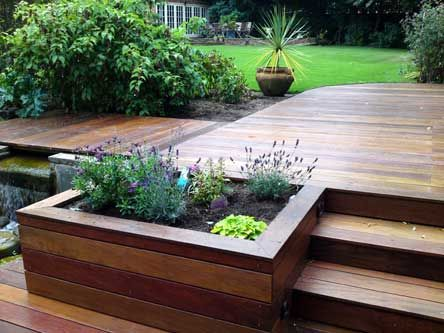 Silva timber products cheshire cedar decking cedar for Box steps deck