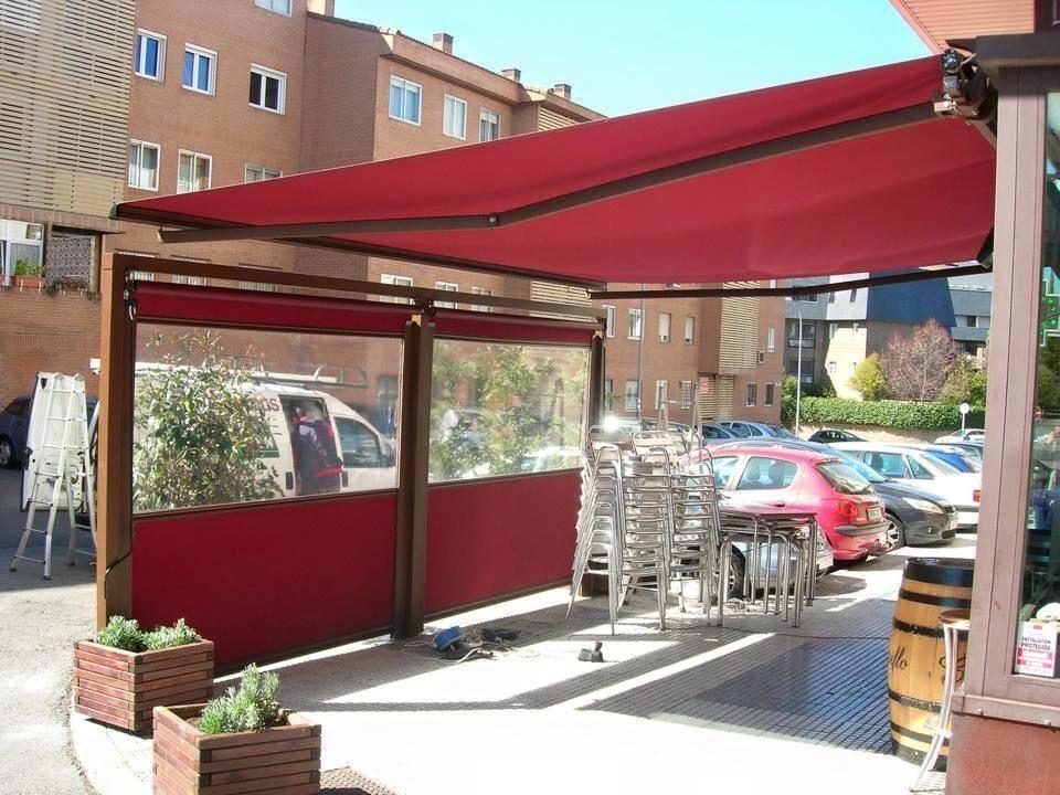 RETRACTABLE W/ DROP ROLL AND WINDOWS | Outdoor decor ...