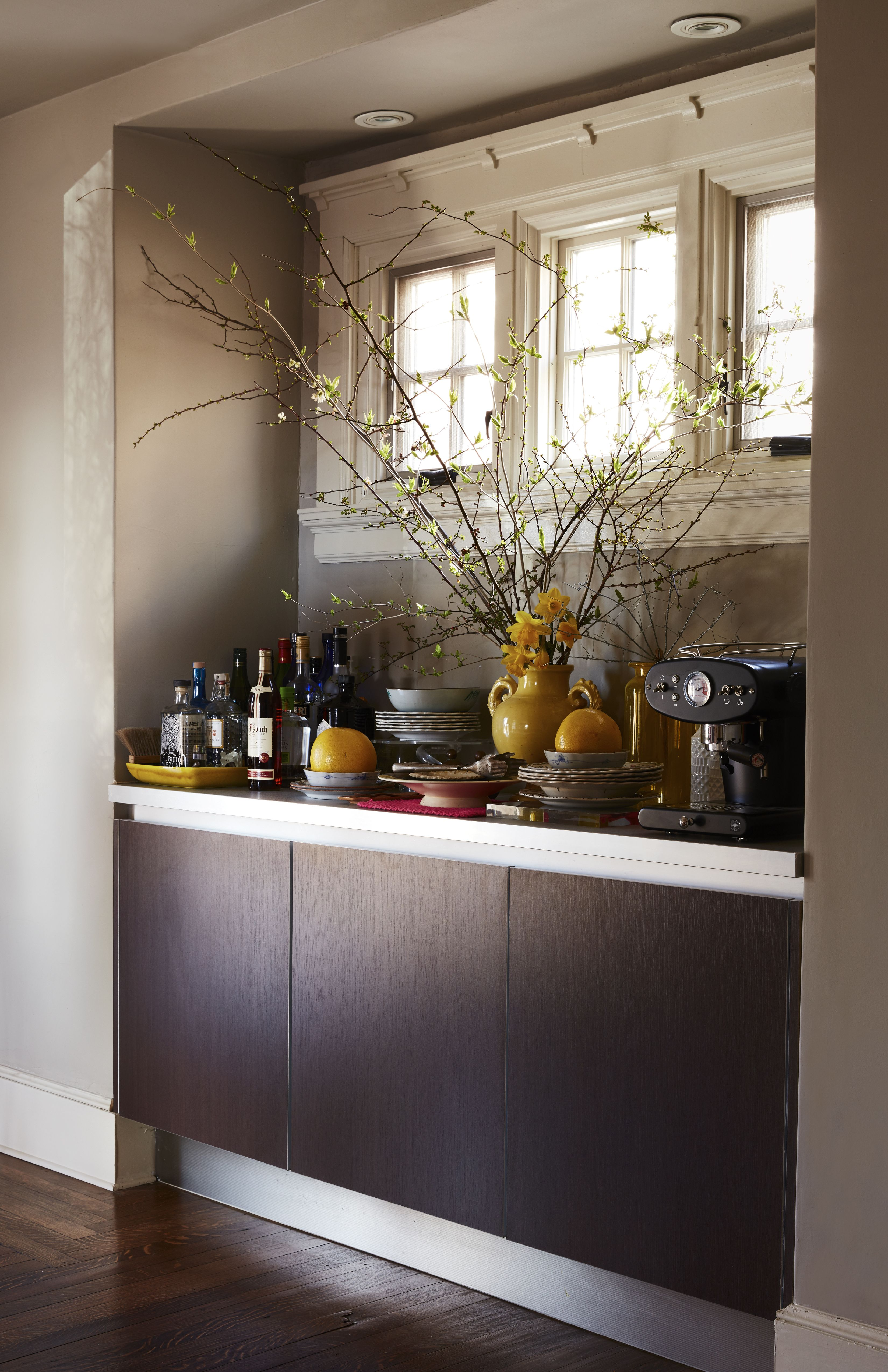 Bloomsbury In The Bronx At Home With Livia Cetti And Family Remodelista Open Dining Room Dining Room Sideboard Home