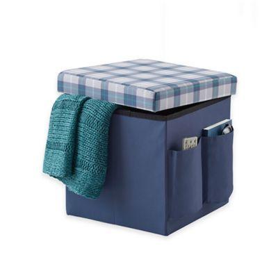 Awe Inspiring Sit Store Folding Ottoman Bedbathandbeyond Com Machost Co Dining Chair Design Ideas Machostcouk