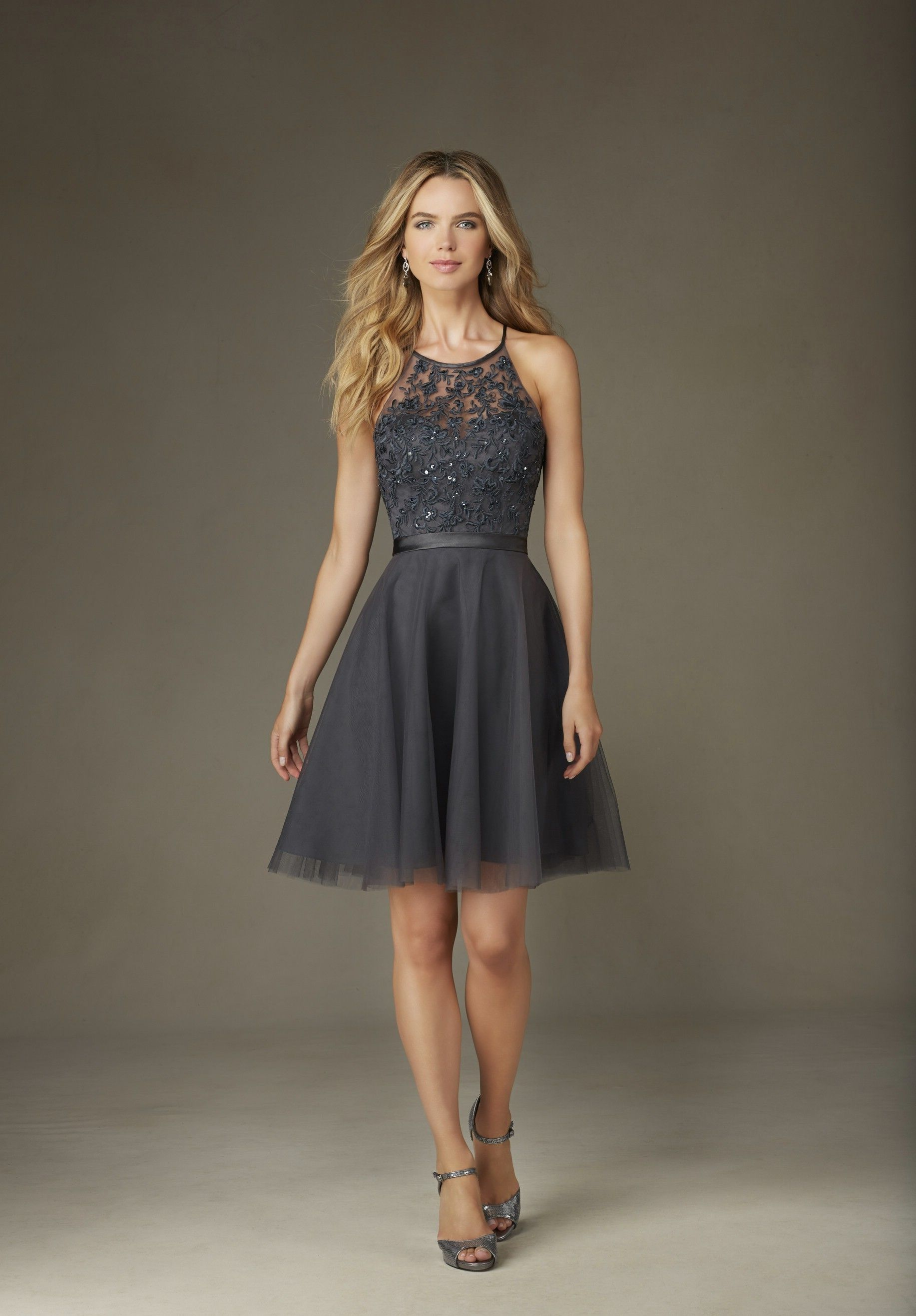 Mori Lee Tulle Affairs - Style 135 [135] - $160.00 : Wedding Dresses ...