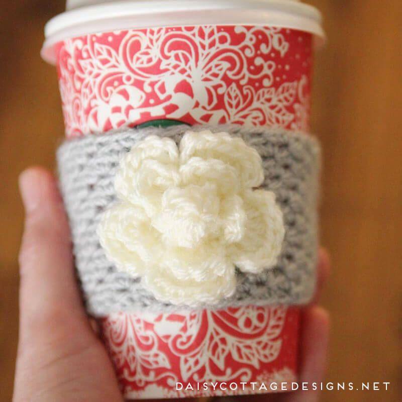 Coffee Cozy Crochet Pattern   Pinterest