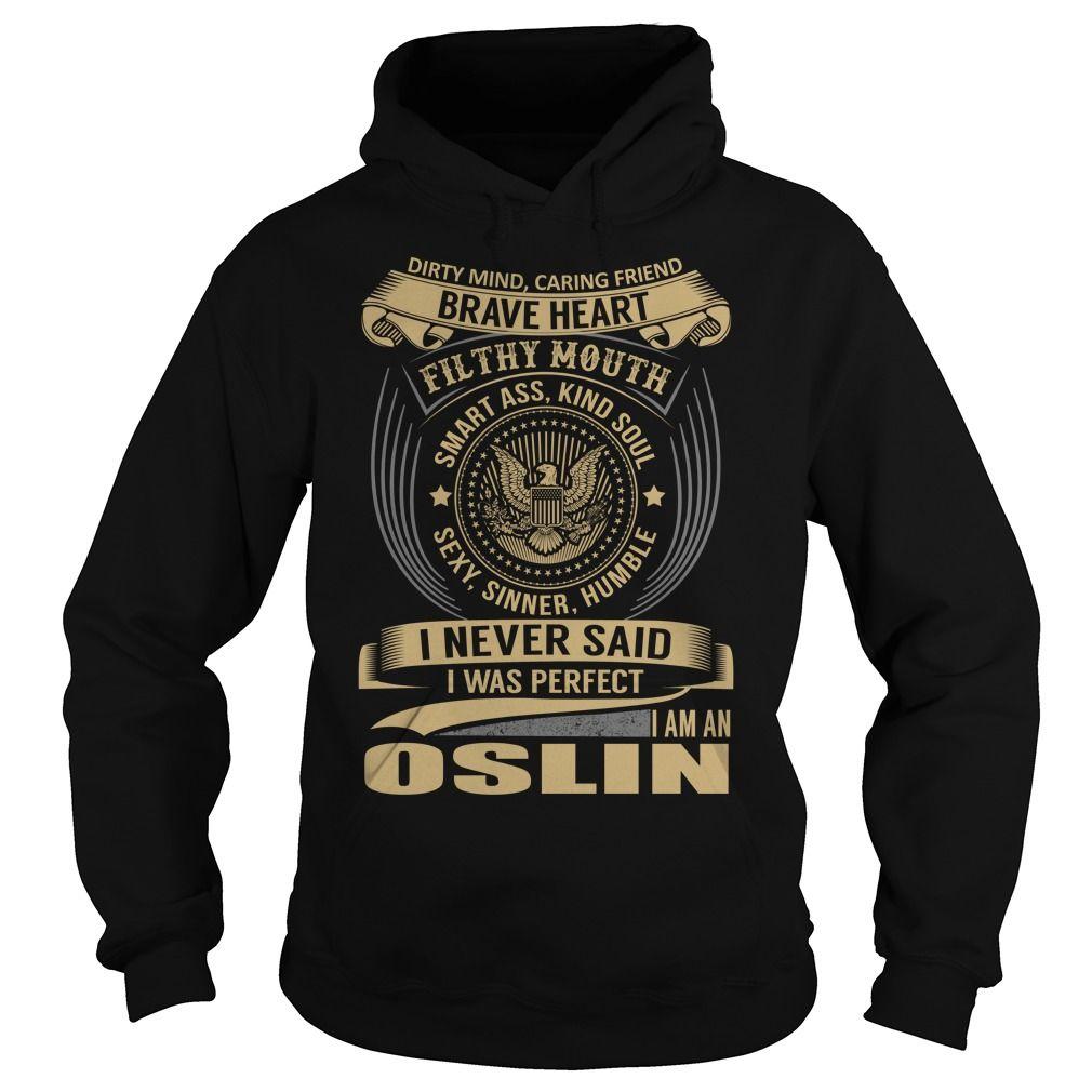 OSLIN Last Name, Surname T-Shirt