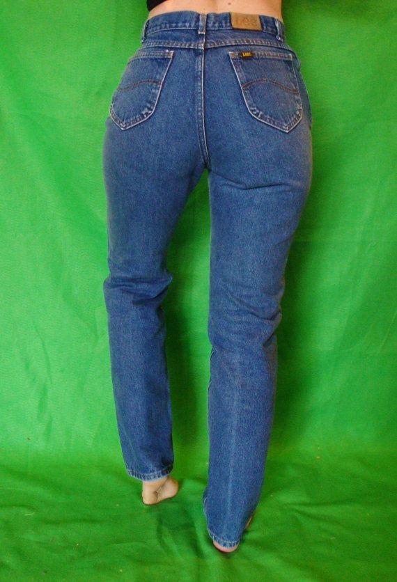 80s Gitano high waisted light wash jeans 29 waist
