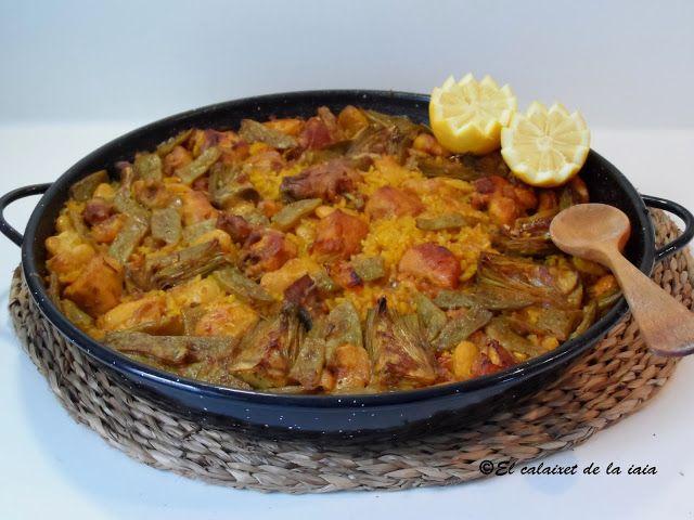 paella valenciana al horno