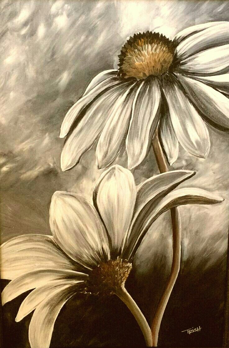 Beautiful Flowers Paintings Pinterest Painting Art And Canvas