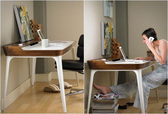 Aria Desk By Herman Miller Modern Home Office Desk Minimalist