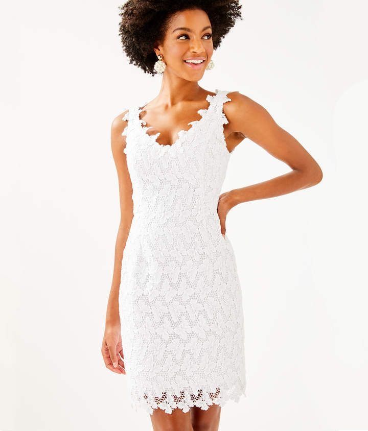 b538ff9917e466 Lilly Pulitzer Reeve Shift Dress in 2019 | Products | Dresses, White ...