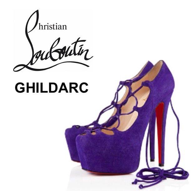 CHRISTIAN LOUBOUTIN Ghildarc - @Antonia Richmond- #webstagram