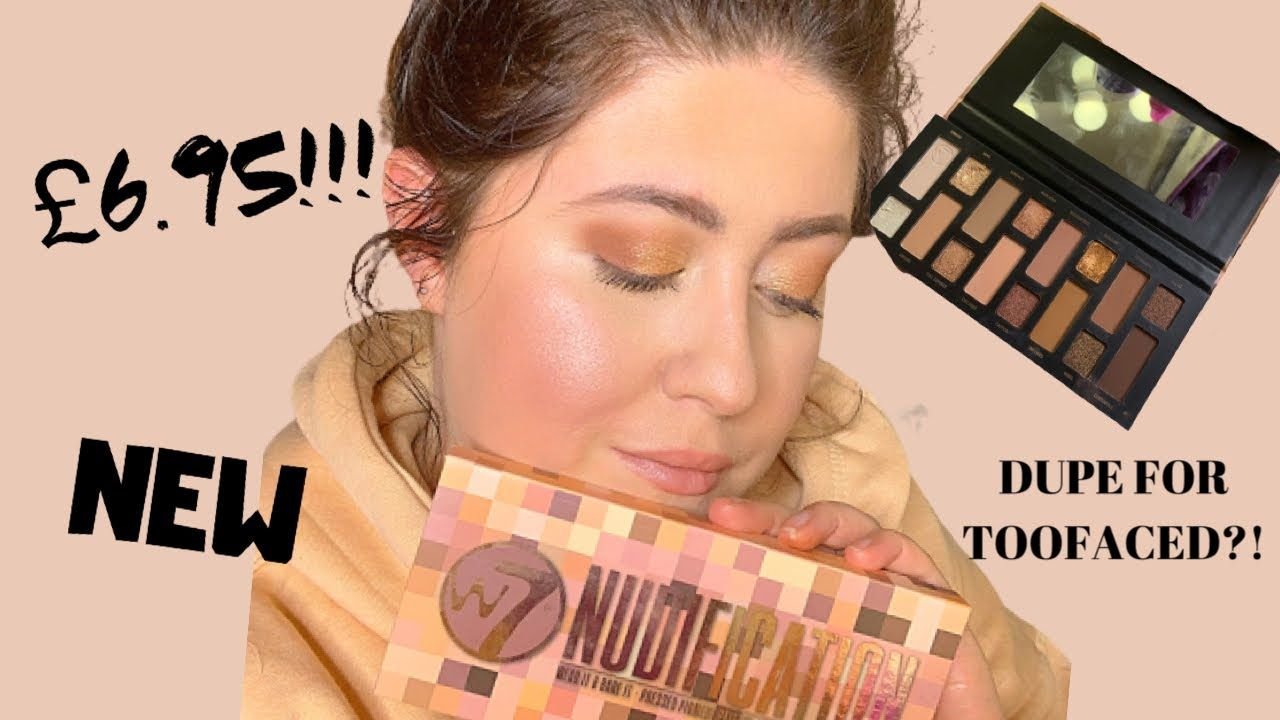GRWM: Ft W7 Naked Nudes - YouTube