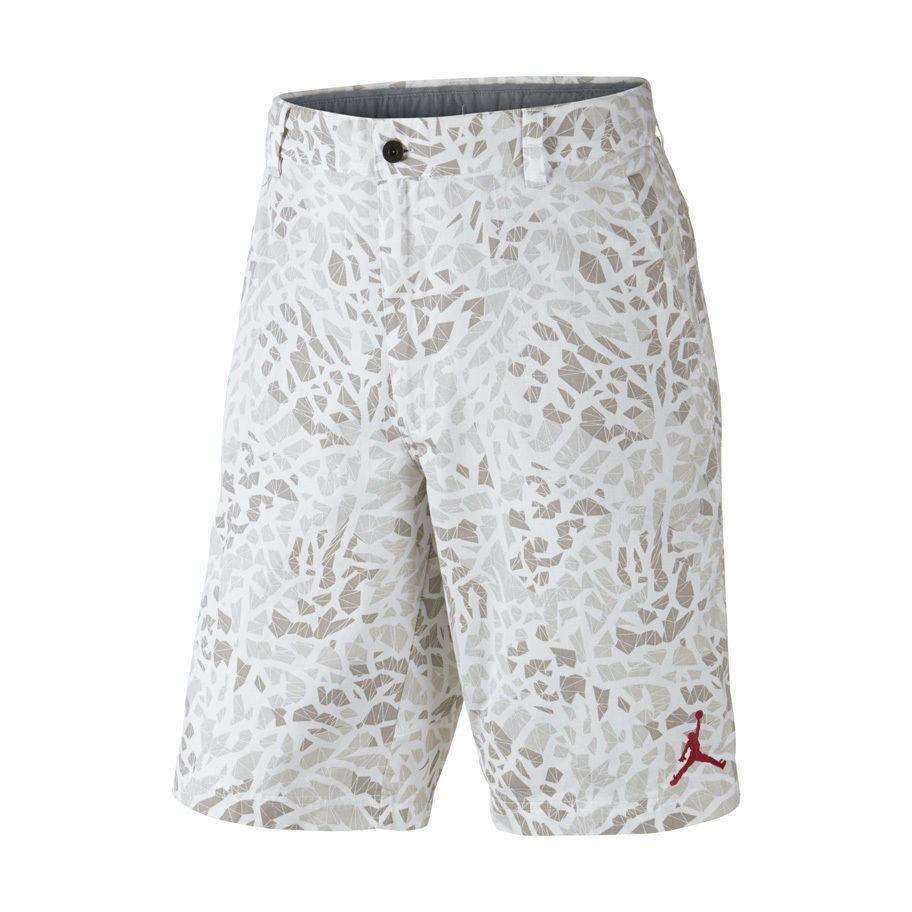 Nike Air Jordan Men's Shorts Size 36 Fragmented Camo Tan 612945 100
