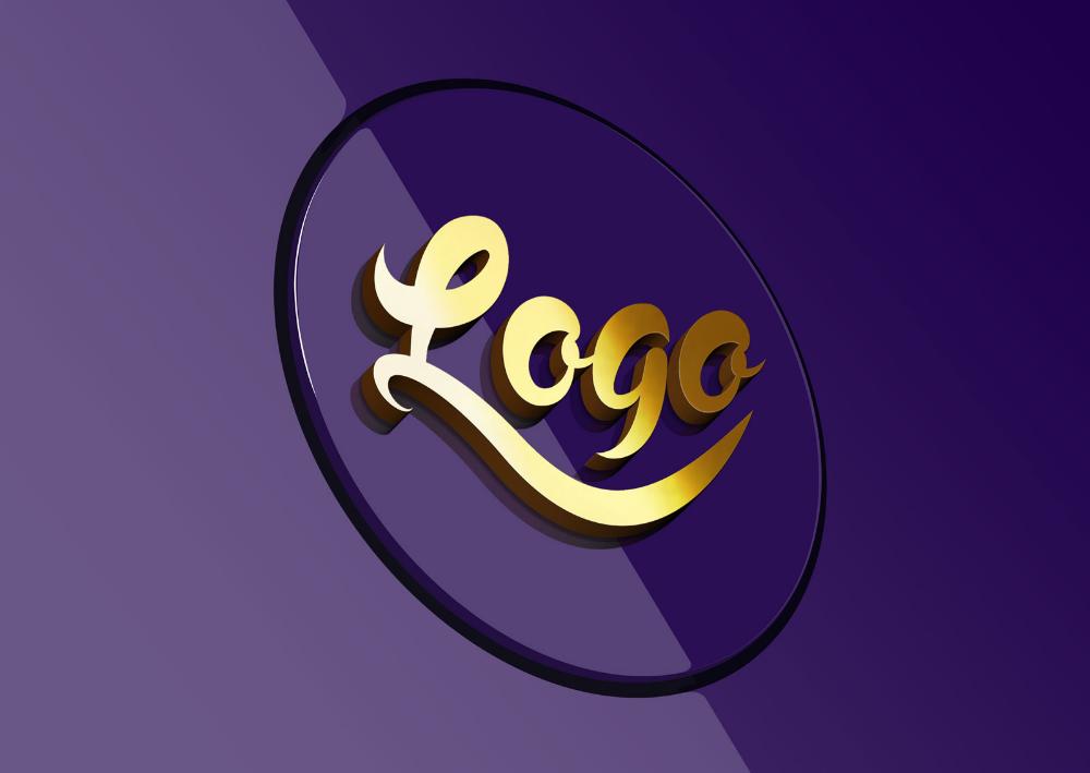 Free 3D Logo Mockup PSD Logo mockups psd, Logo mockup