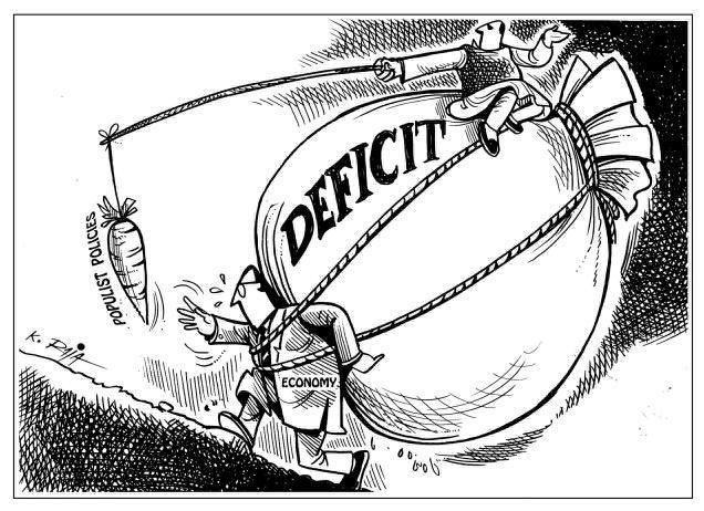 El concepto de déficit fiscal, déficit presupuestario o déficit público describe la situación en la cual los gastos realizados por el Estado superan a los ingresos no financieros, en un determinado período (normalmente un año).Así por ejemplo, si nos referimos al caso español, dentro del déficit público se encontraría una parte originada por el Estado, otra por las Comunidades Autónomas y otra por los Ayuntamientos y Diputaciones provinciales, siendo el déficit público la suma de todas…