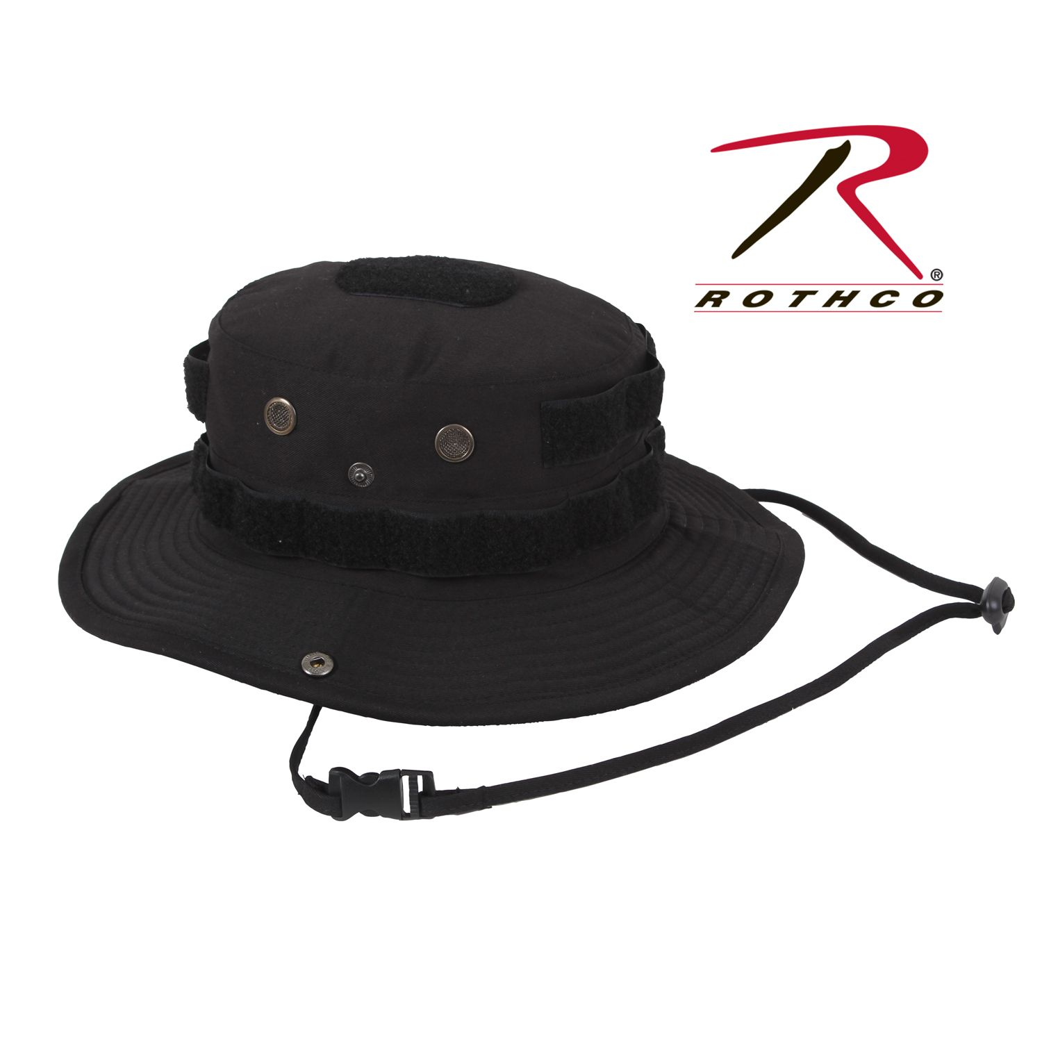 18aba1400dc Rothco Tactical Boonie Hat now in Black