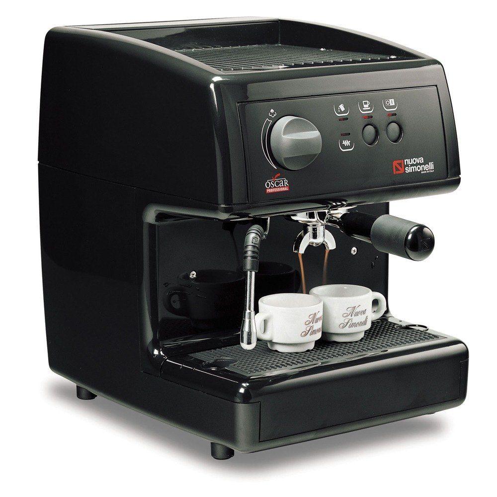Nuova Simonelli Black Oscar Professional Espresso Machine Direct Connection 11 Espresso Coffee Machine Semi Automatic Espresso Machine Best Espresso Machine