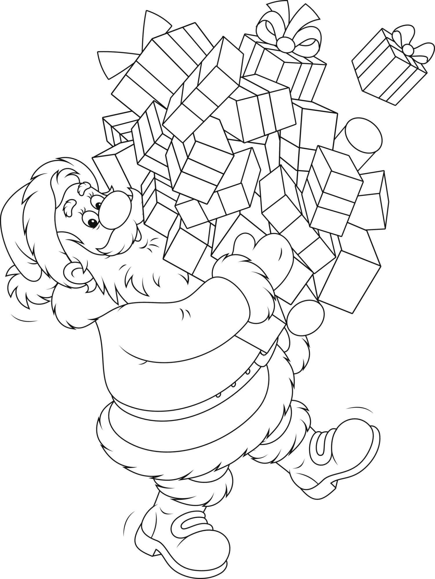 Imprimer Un Dessin De Noel Beau Modèle Coloriage De Noel Modeles A