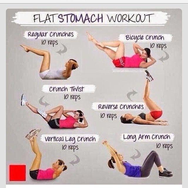 Flat Tummy Moves