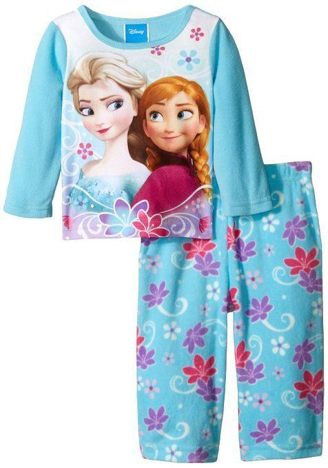 337607715 Disney Girls Toddlers Frozen Lovely Sisters 2 Piece Pajama Set ...