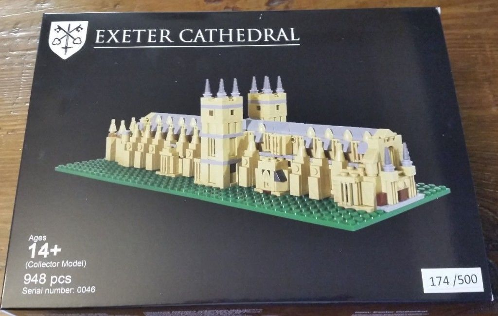 Lego Exeter Cathedral Instructions Cerca Con Google Legos
