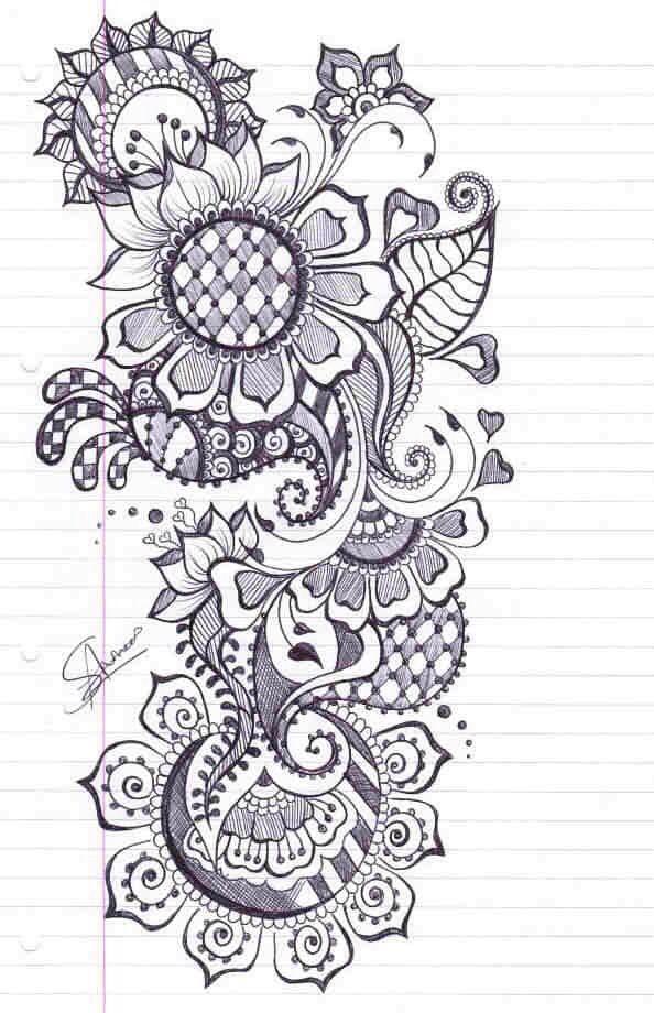 Pin de Renee Zirbel en Reference | Pinterest | Mandalas, Tatuajes y ...