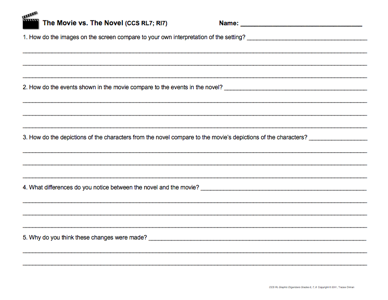 6Th Grade Common Core Ela Worksheets Worksheets for all | Download ...