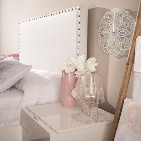 Soft cabecero tapizado ecopiel cabecero dormitorio y camas - Kenay home cabeceros ...