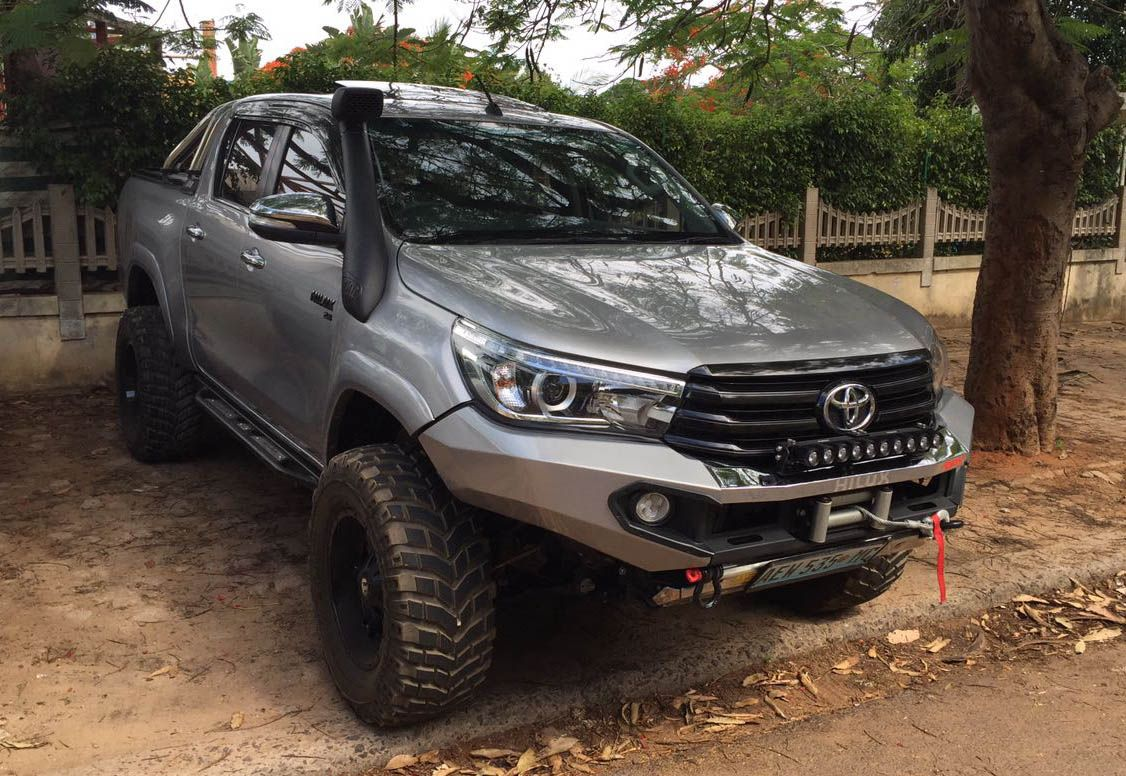 Toyota Tacoma Evolution >> Rhino 4×4 | Toyota Hilux 2016 Front Evolution 3D Bumper | Off Road, 4x4, travel, overland and ...
