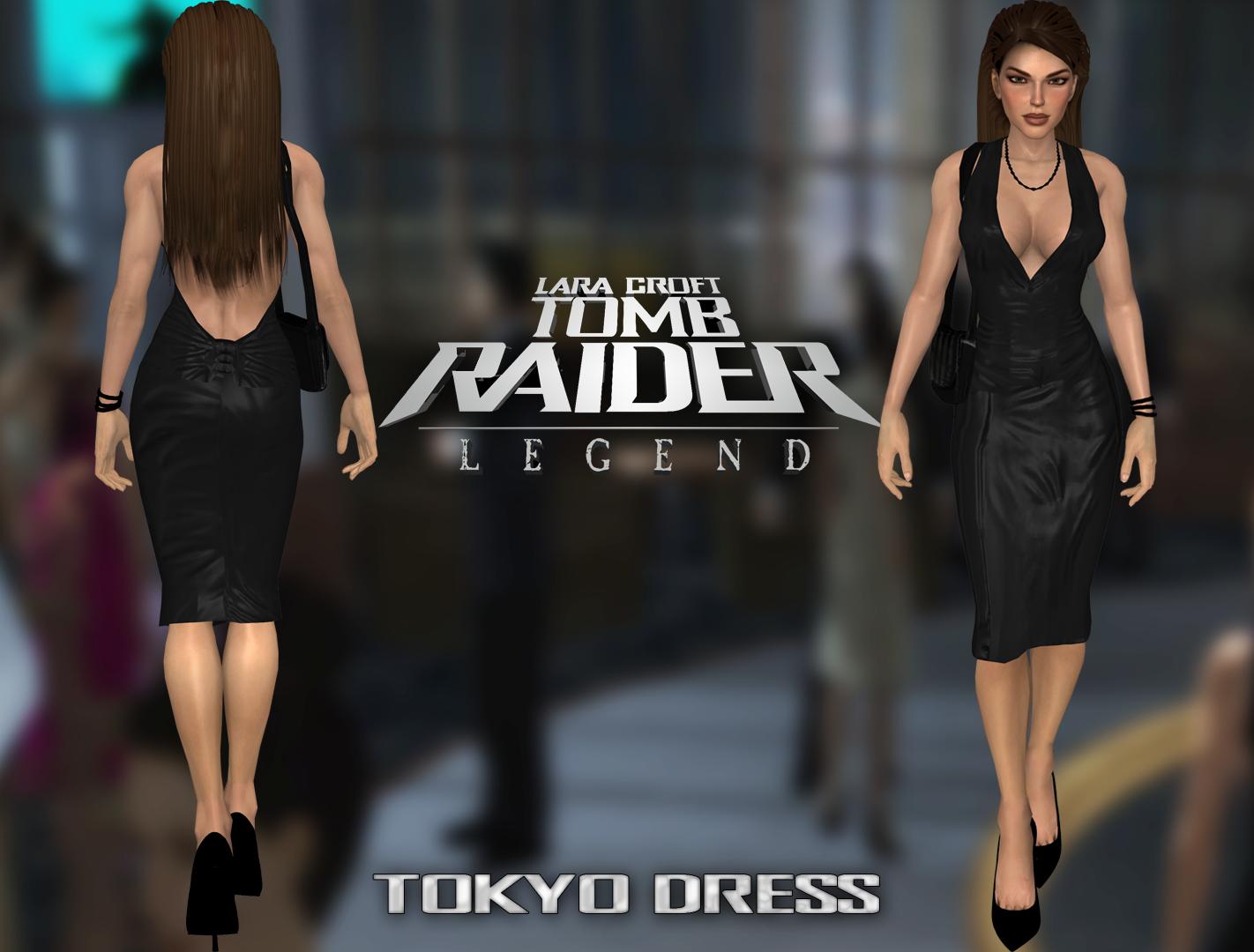 Tomb Raider Legend Tokyo Dress By Sean945 On Deviantart