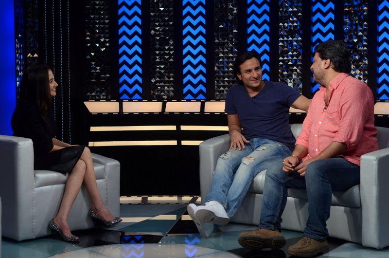 Saif Ali Khan and Tigmanshu Dhulia talk about attempting something different in Bullett Raja.