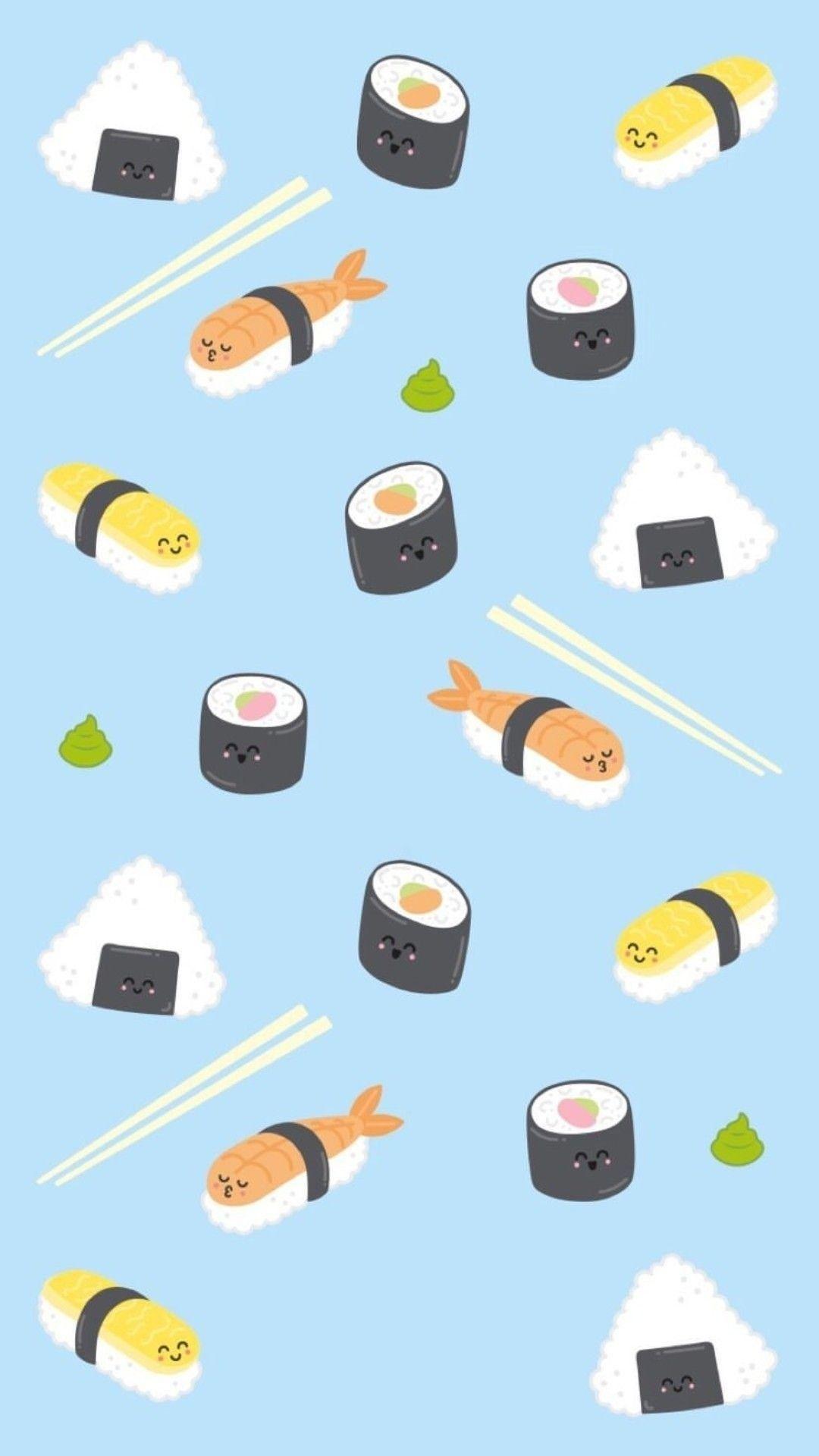 Pin By נטע כנפו On Sushi In 2019 Mr Wonderful Kawaii