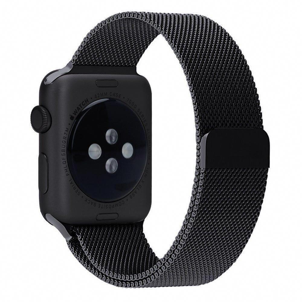 Apple Watch Band Milanese Magnetic Loop Spartan Watches Top Apple Watch Bands Luxury Watches Appl Gucci Pattern Apple Watch Apple Watch Stainless Steel