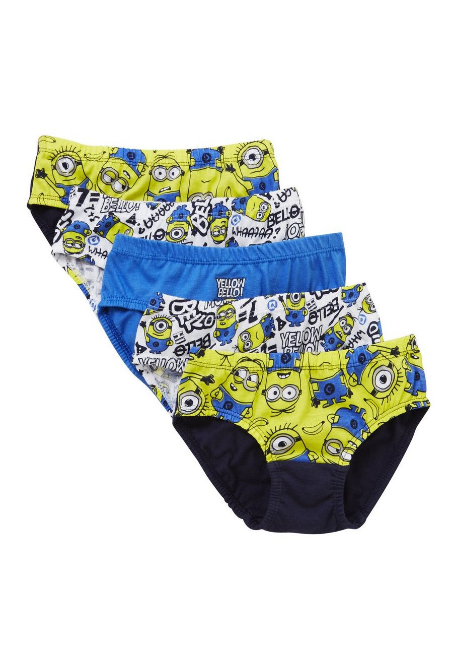 3 Pack Minions Boys Briefs Pants Underwear