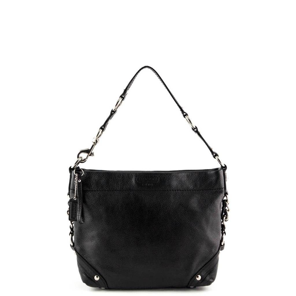 e4166b3d3a00 Coach Black Hobo Bag - LOVE that BAG - Preowned Authentic Designer Handbags