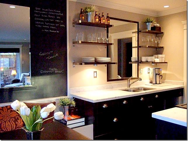 Slim Paley's Kit's Beach kitchen