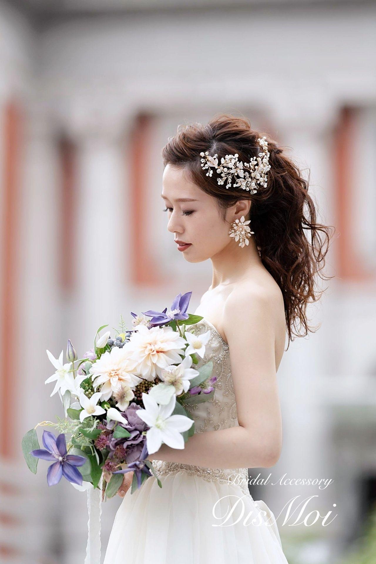 Photo of Twig accessories gold ~ bridal headdress ~ ≪HV-09≫ | …