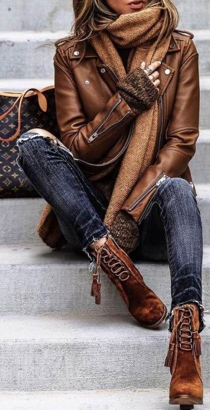 Oltre 60 idee alla moda tendenze della moda abiti invernali sciarpe # moda #ideas #outfit #s …