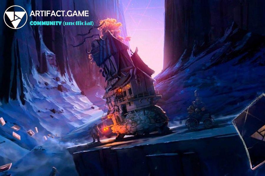 Dota 2 A Crutch For Artifact Game Card Games Games Artifacts