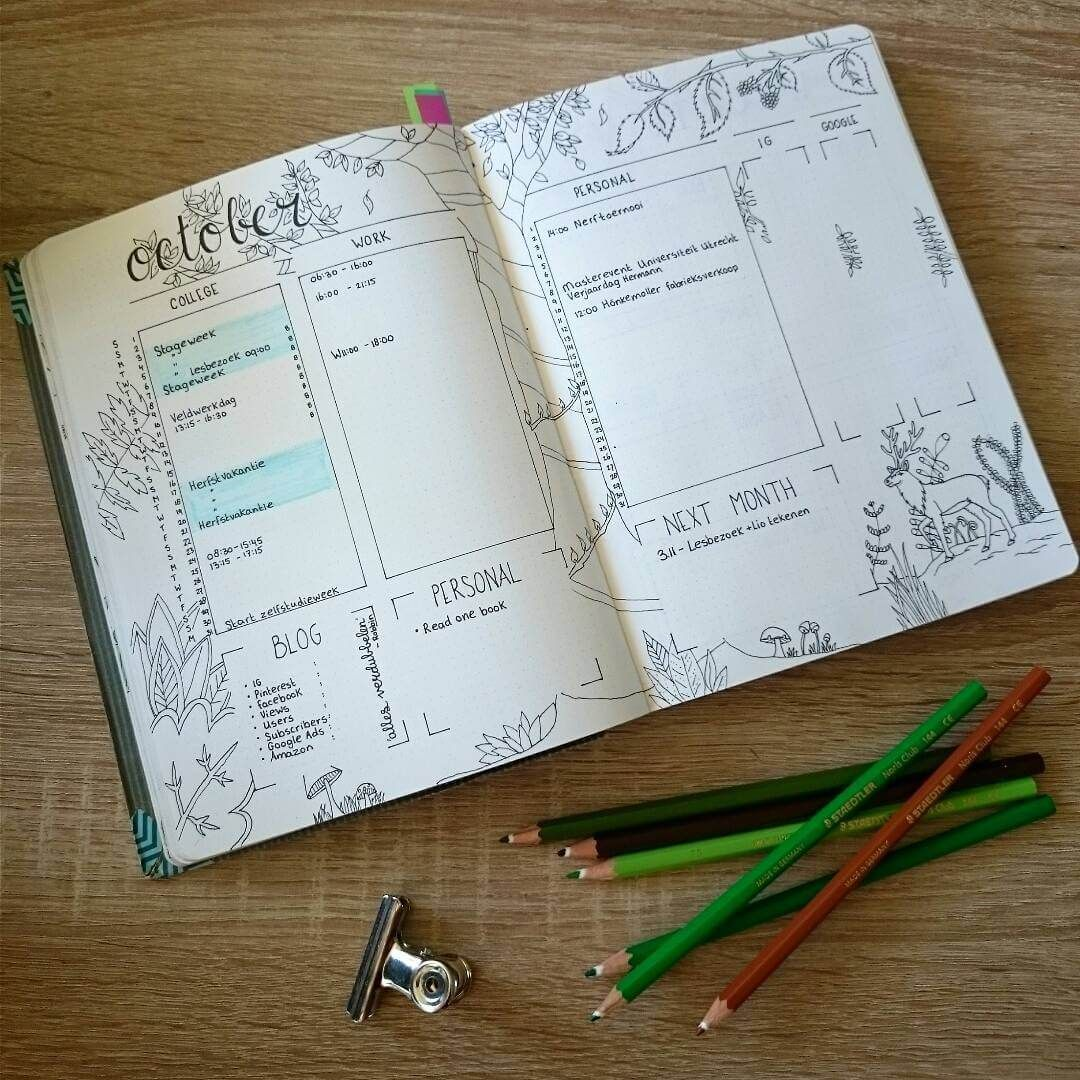 Photo Gallery | Bullet journal, Spreads and Bullets