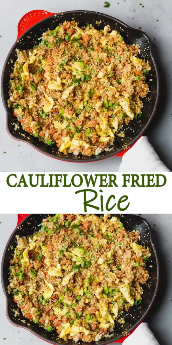 Photo of CAULIFLOWER FRIED RICE