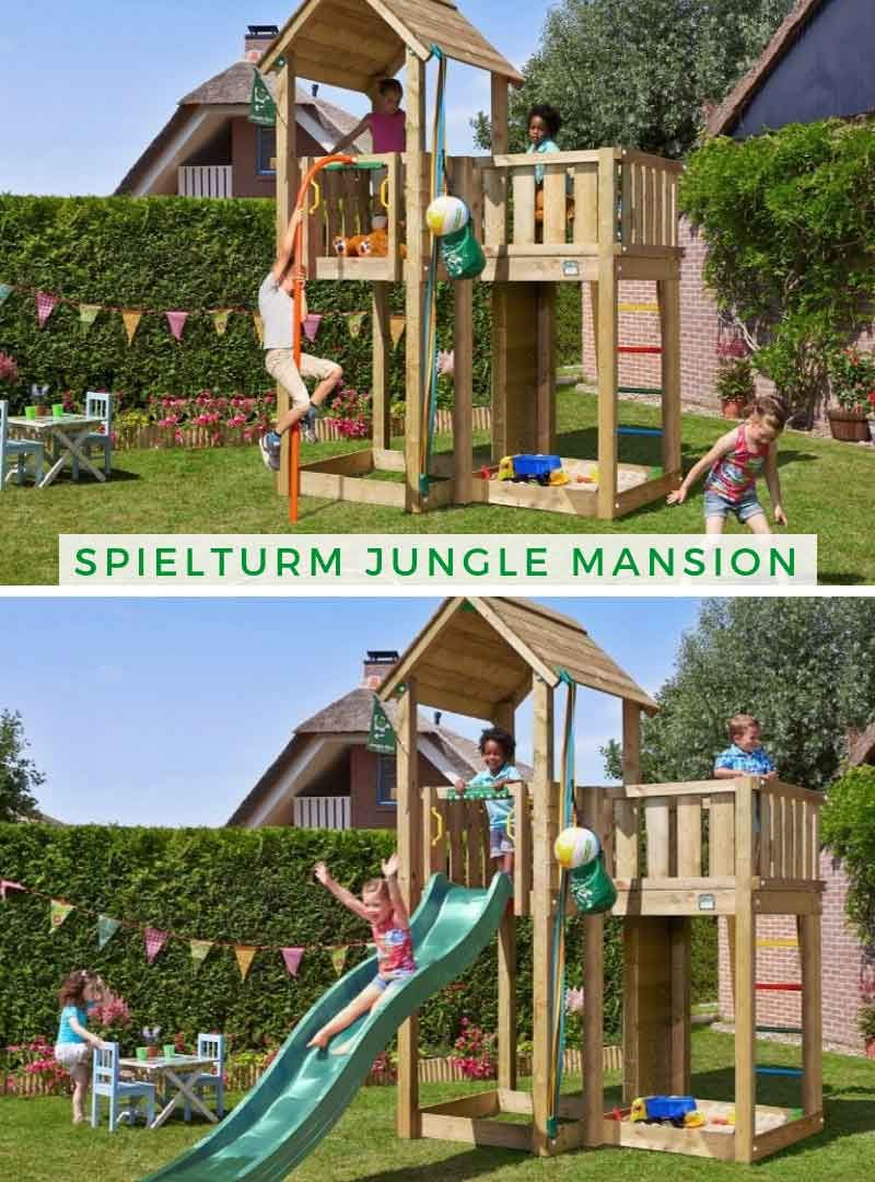 Spielturm Jungle Mansion Spielturm Spielturm Garten Sandkastenabdeckung