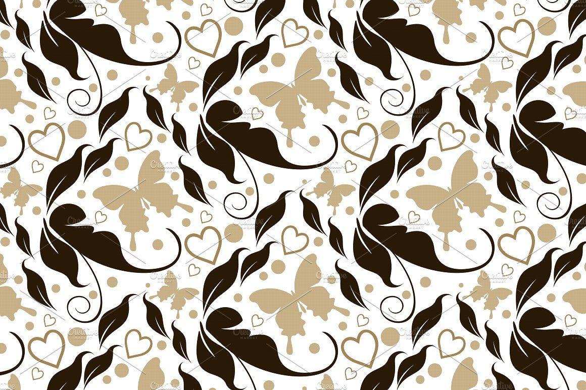 Flower background by kio on creativemarket patterns