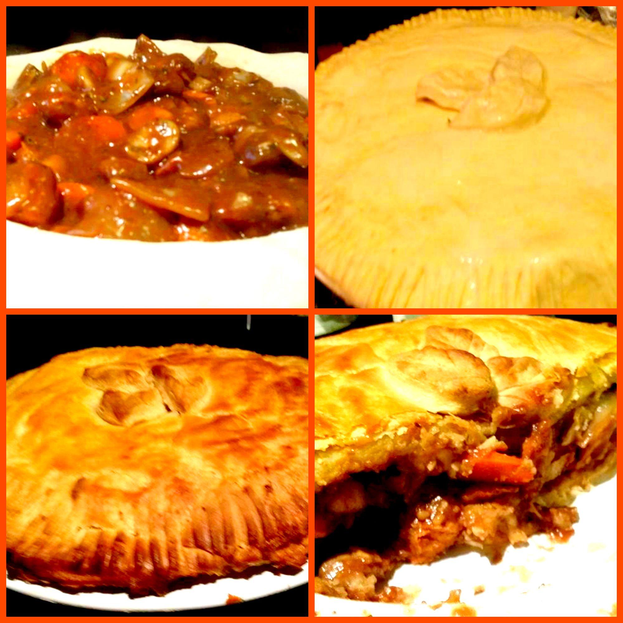 Vegan Steak and Ale Pie | Steak and ale, Ale pie, Vegan steak
