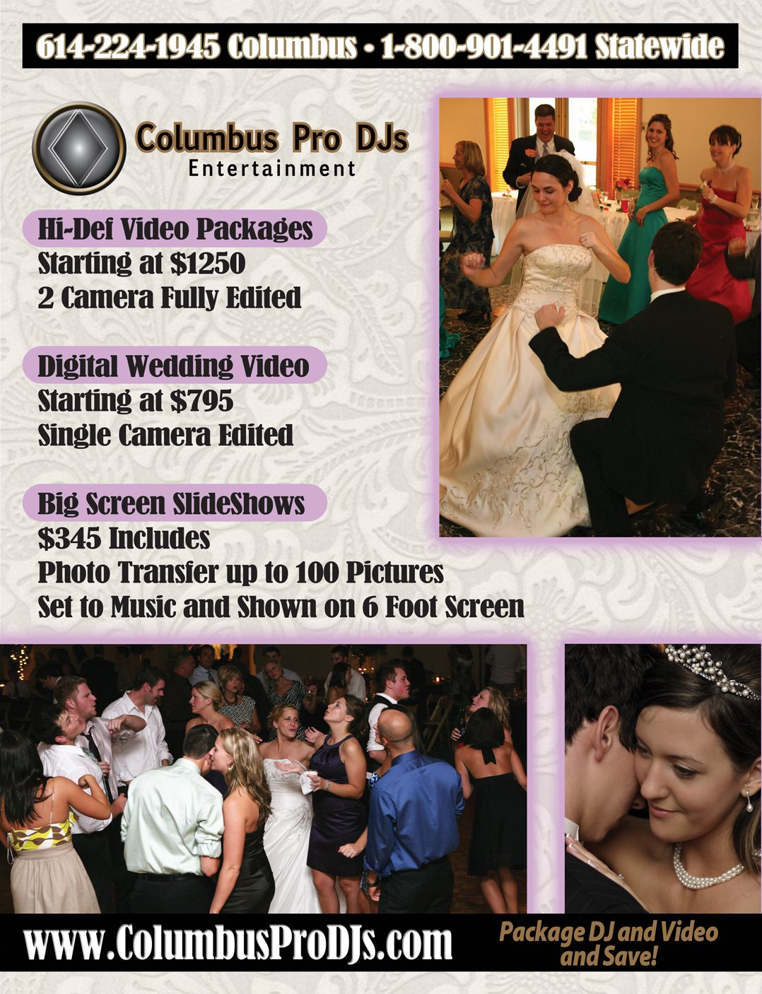 Columbus Pro Djs Columbus Ohio S Best Dj Service For Weddings Corporate Events School Events And Parties Wedding Service Digital Weddings Wedding Videos