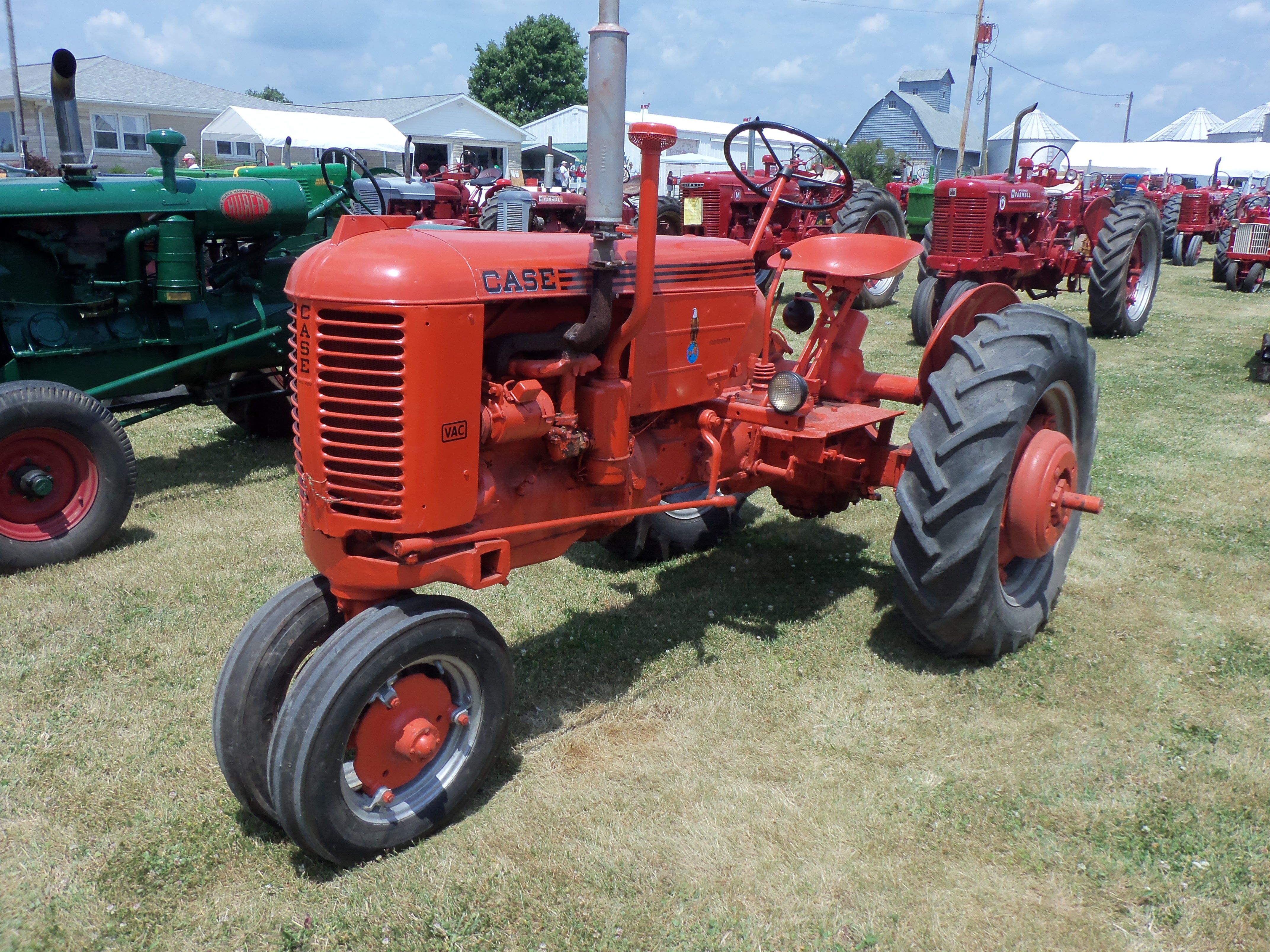 Case Tracked Tractors : Antique tractors on pinterest old