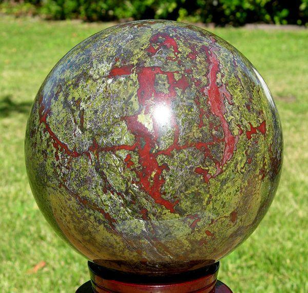 175mm Huge Dragon Blood Stone Jasper Sphere Ball Rare | eBay