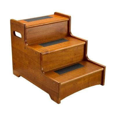 Like This Wooden Step Stool To Get Onto The Bed Instructions Here